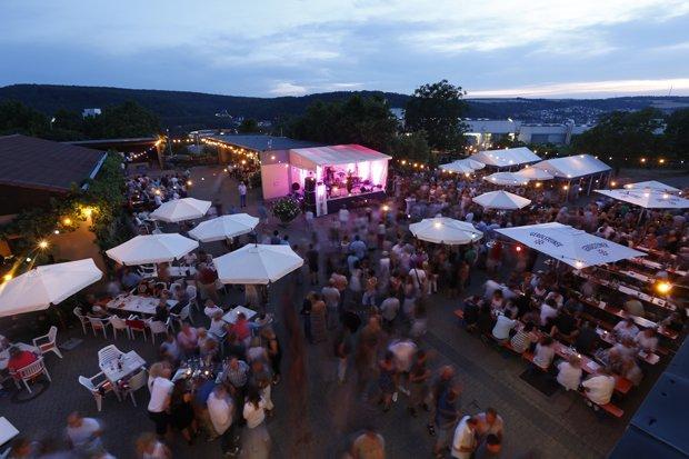 Wein Party am Pfaffenberg
