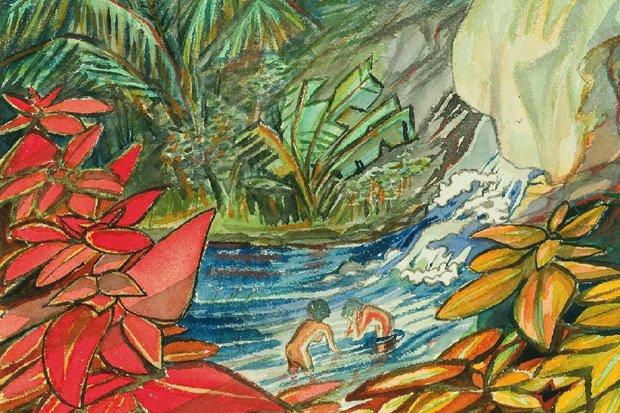 Max Dauthendey zum 150. Geburtstag – Zeichnungen und Aquarelle