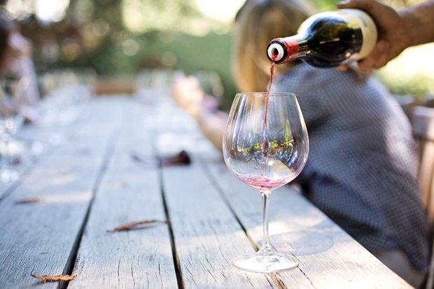 Weinfest Wein Stock