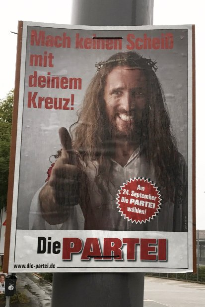 Partei Plakat