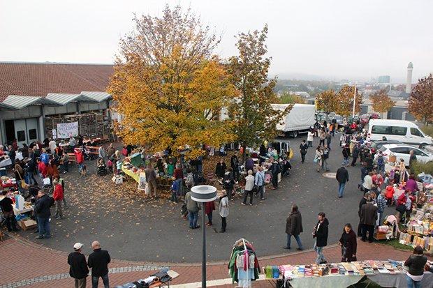 Blindi-Flohmarkt