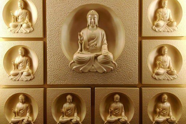 Buddha Buddhismus Stock