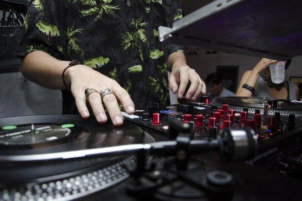 Party DJ Stock