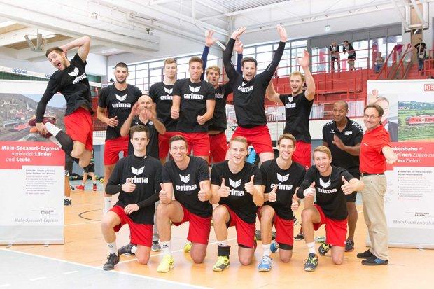 Eltmänner Volleyballer Deutsche Bahn