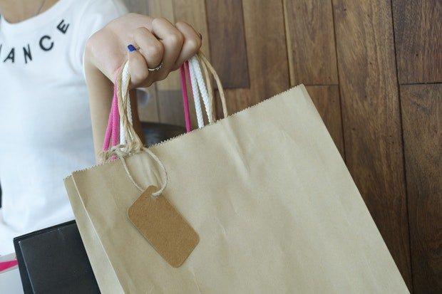 Kleidung Mode Einkaufen Stock
