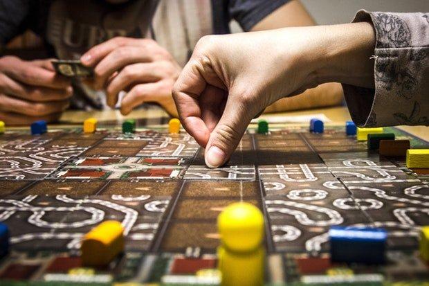 Spiele Brettspiel Stock