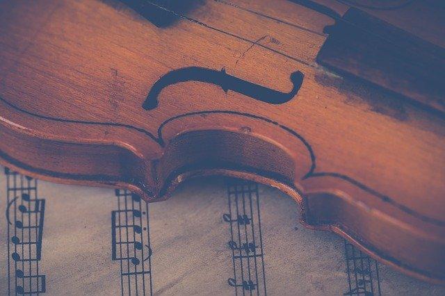 Violine Geige Stock Musik