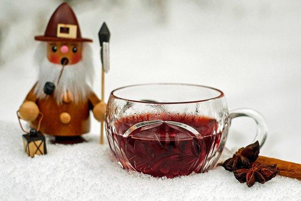 Winter Punsch Glühwein Weihnachten