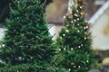 Christbaum Weihnachtsbaum Weihnachten Stock