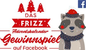 FRIZZ Adventskalender auf facebook