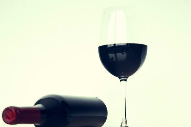 Rotwein Wein Stock