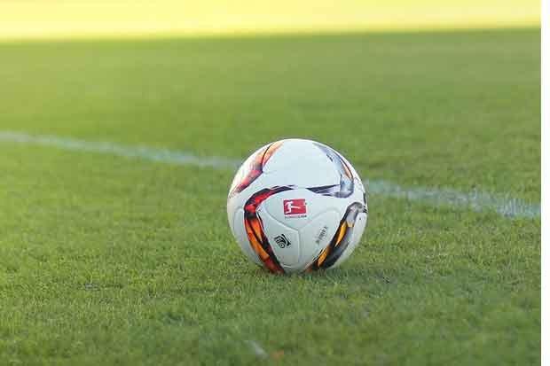 Fußball Stock