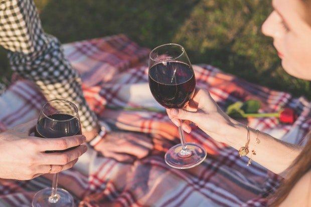 Wein Weinfest Stock