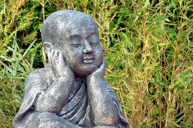 Zen Mönch Stock