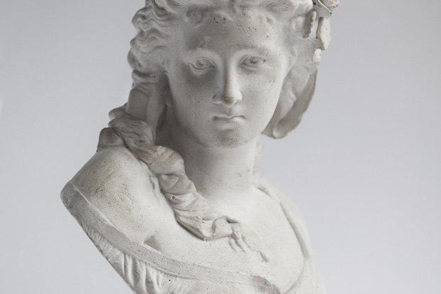 Skulptur Büste Antik Stock