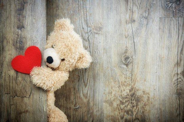 Teddybär Stock