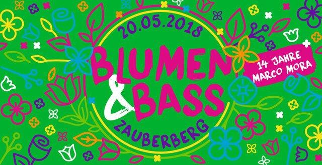 Blumen und Bass