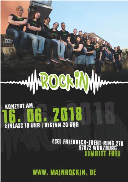 RockIn Flyer Konzert 2018