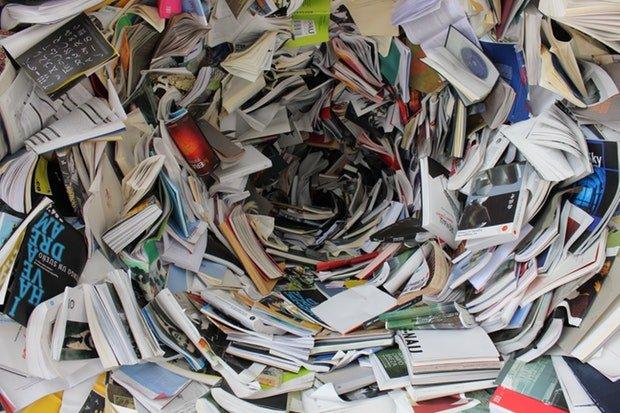 Buch Bücher Stock