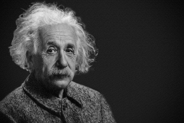 Einstein Wissenschaft Stock