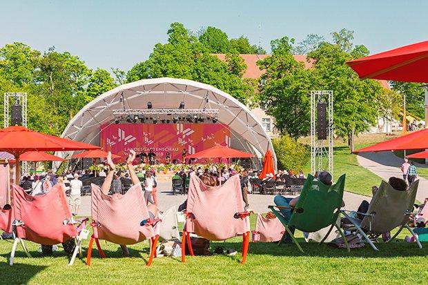 Landesgartenschau LGS Bühne