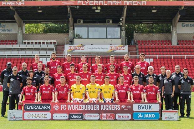 Kickers Mannschaftsfoto 2018/19