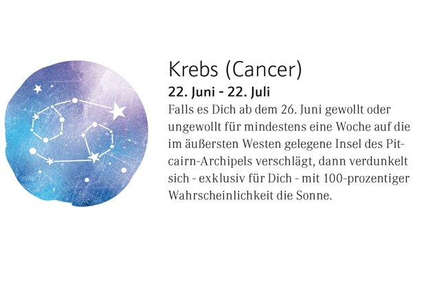 Horoskop Krebs