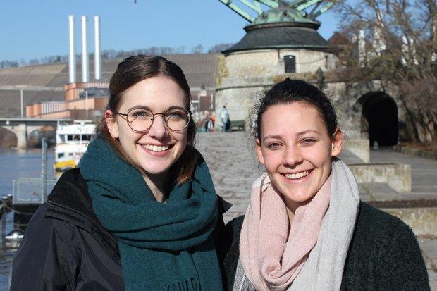 Jana und Prisca Umfrage