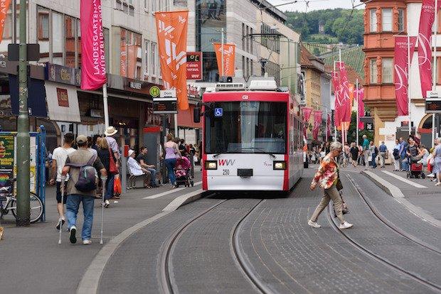 Straßenbahn WVV
