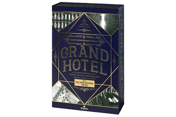 """Spiel """"Das geheimnisvolle Grand Hotel"""""""
