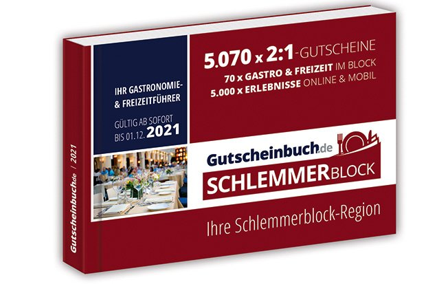 Gutscheinbuch.de Schlemmerblock 2021