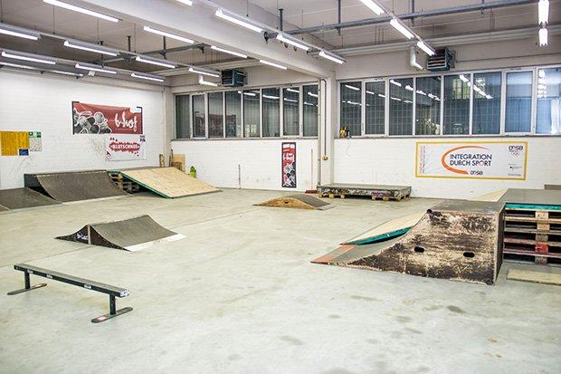 Skatehalle Reuterhaus