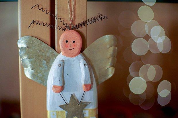 Engel Weihnachten Stock