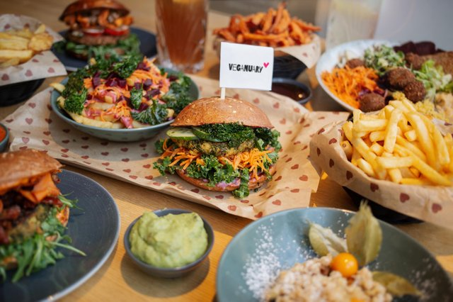 Burgerheart Veganuary 2021