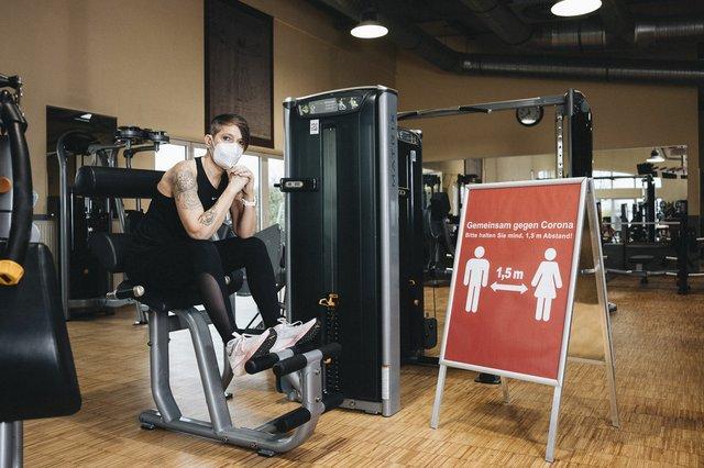 Fotoprojekt Fitnessstudio