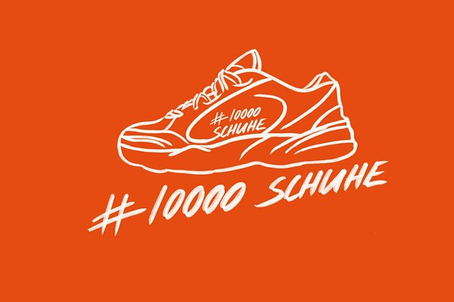 10.000 Schuhe