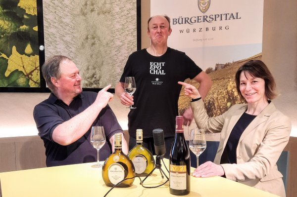 "Bürgerspital: Livestream Weinprobe ""Echt epochal!"""