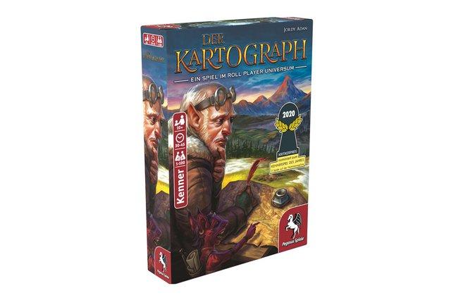 3x1 Spiel: Der Kartograph