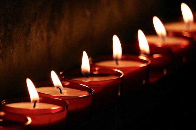 Kerzen Stock