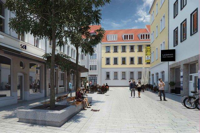 Visualisierung Wilhelmstraße