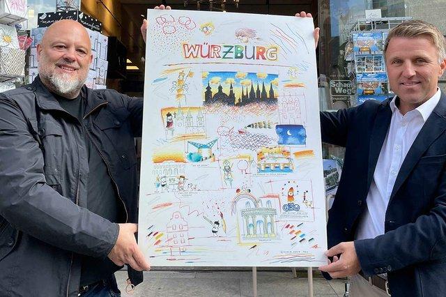 Würzburg Poster