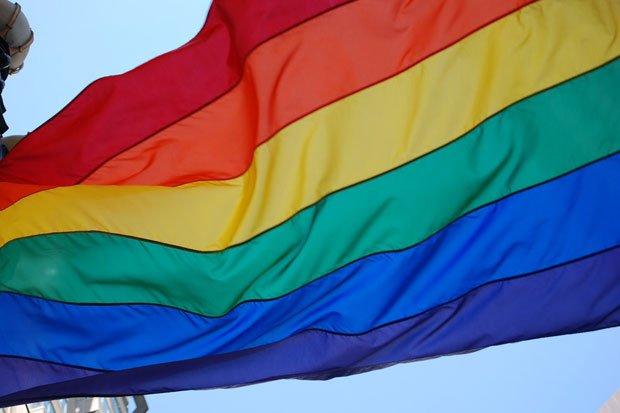 Gay Flagge Stock