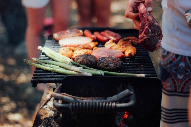 Grillen BBQ Stock