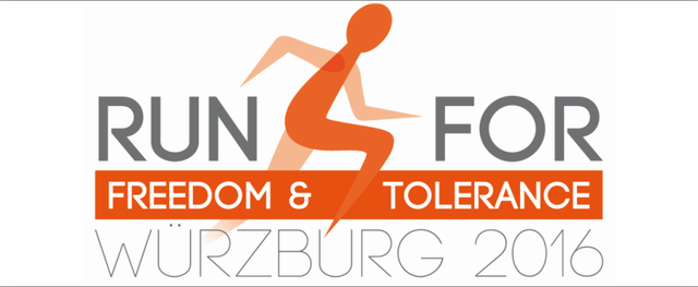 Run 4 Freedom & Tolerance Logo