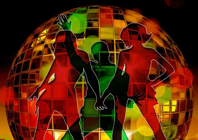 Disco Funk Soul Party Stock
