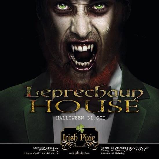 Leprechaun House Irish Pixie