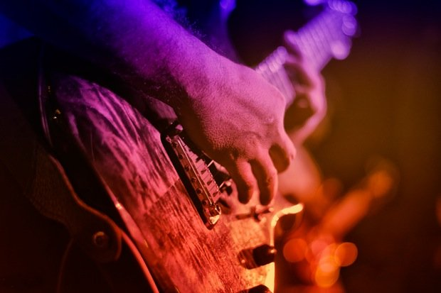 Gitarre Rock Musik Stock