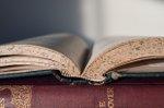 Buch Lesung Bibliothek Stock