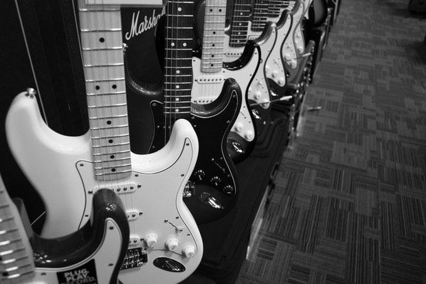 Gitarre Rock Stock