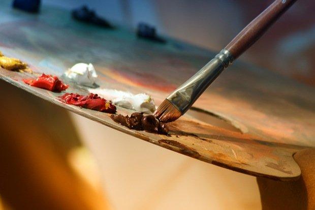 Kunst Malerei Stock